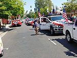 The Reel Cowboys at the Canoga Park, California Memorial Day Parade on May 28th, 2018