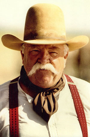Wilford Brimley - Lifetime Member of the Reel Cowboys